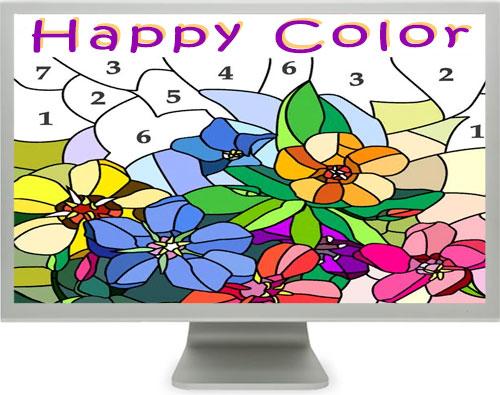 скачать Happy Color бесплатно на компьютер Windows 7 8 10