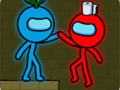 Red And Blue Stickman